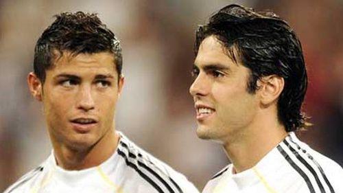 Kaka gạt Cristiano Ronaldo khỏi vị trí đồng đội hay nhất
