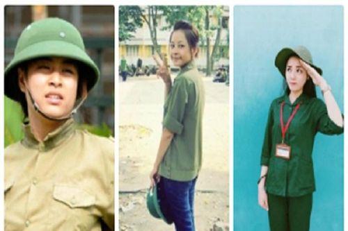 'Bóc mẽ' nhan sắc thật của các mỹ nhân Việt khi học quân sự