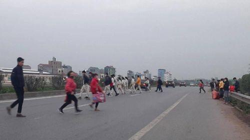Xóa 'điểm đen' trên cao tốc Hà Nội - Bắc Giang