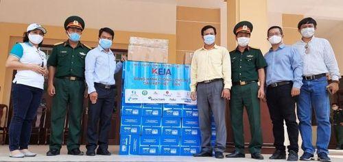 Hội chuyên gia Trí thức Việt -Hàn hỗ trợ khu cách ly tập trung tại trường Quân sự Quân đoàn 4