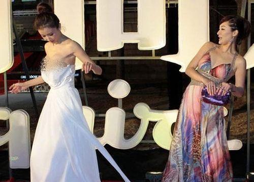 Những sự cố mặc váy áo 'lộ hàng' khiến mỹ nhân Hoa ngữ chỉ muốn độn thổ