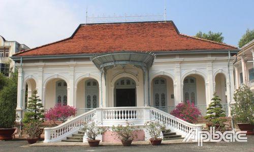 Ngôi nhà cổ Bảo tàng Tiền Giang là di tích cấp tỉnh
