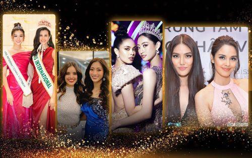 Lương Thùy Linh 'nổi trội' trước Megan Young - Vanessa Ponce, Tường San nền nã bên Hoa hậu Quốc tế