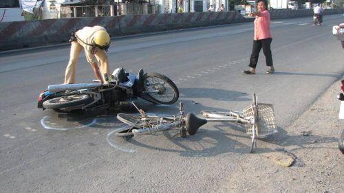 Tiền Giang: Số người chết do TNGT giảm, số người bị thương tăng