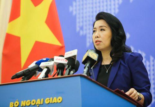 Việt Nam lên tiếng về các hoạt động mới nhất của Trung Quốc ở Biển Đông