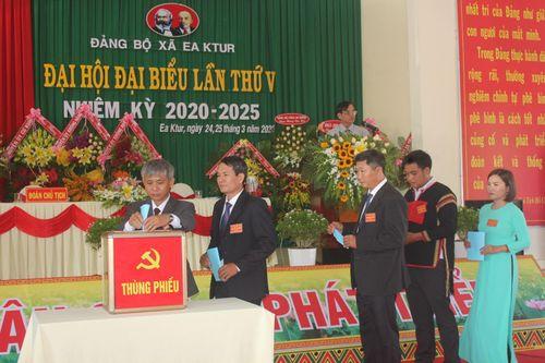 Đảng bộ huyện Cư Kuin, Đăk Lăk sẵn sàng cho đại hội điểm cấp huyện