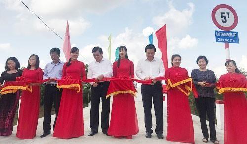 Khánh thành cầu 'Trung đoàn 207'