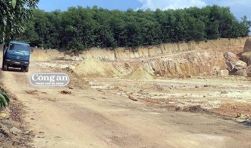 Cần kiểm tra, chấn chỉnh hoạt động khai thác khoáng sản tại Núi Dàng của Cty Thanh Hà