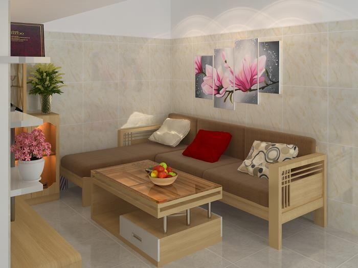 1 644406 - 10 mẫu sofa nhỏ đẹp cho phòng khách đáng tham khảo