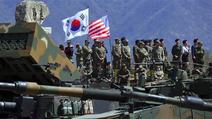 Bất chấp Triều Tiên phản đối, Mỹ - Hàn tuyên bố ngày 11/8 tiếp tục tập trận