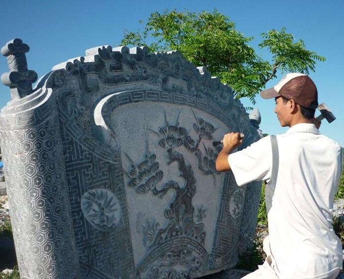 Làng nghề đá mỹ nghệ Ninh Vân và những tuyệt tác bằng đá 2
