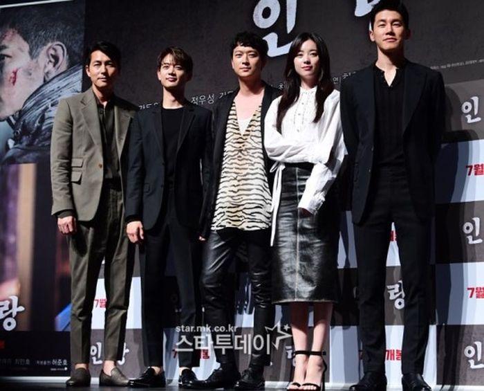 Họp báo 'Inrang': Han Hyo Joo xinh như mộng, lạc trôi giữa loạt tài