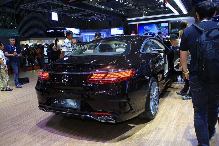 Cận cảnh xế sang mercedes-Benz S 450 4Matic có giá từ 6,169 tỷ đồng tại Việt Nam