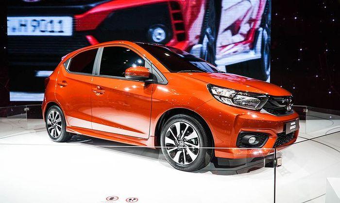 Mẫu xe nhỏ Honda Brio xuất hiện ở Vietnam Motor Show 2018