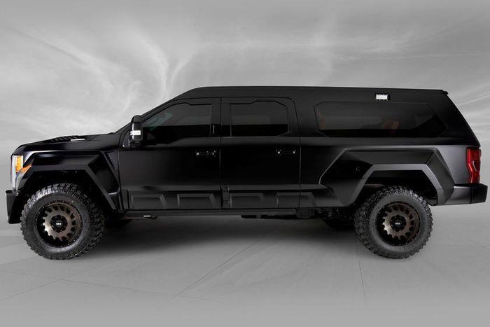 Ford F-350 Lariat sẽ là chiếc SUV đen óng sang trọng bậc nhất thế giới