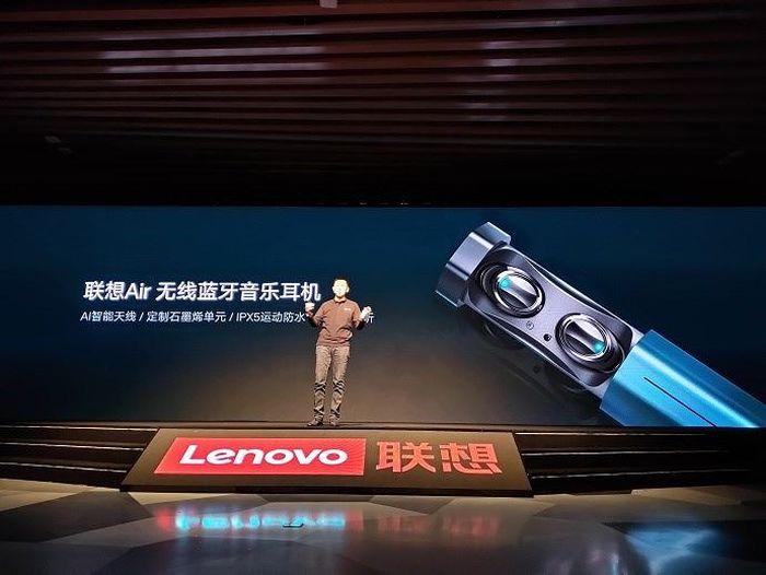 Lenovo ra mắt tai nghe không dây Air: chống nước IPX5, pin 10 tiếng