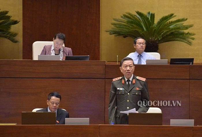 """Bộ trưởng Tô Lâm: """"Bộ Công an không tăng bất cứ một biên chế nào từ nay đến 2021"""" 1"""