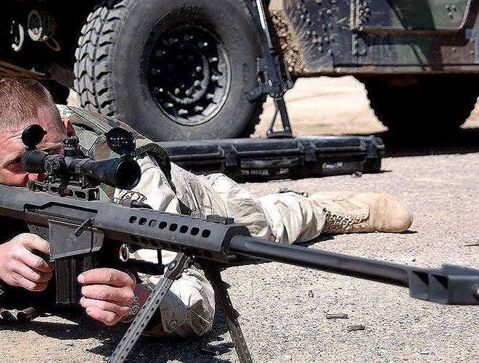 Vận tốc của viên đạn nhanh hơn vận tốc âm thanh có thể giết chết khủng bố  IS trước khi chúng kịp nghe thấy tiếng súng nổ.