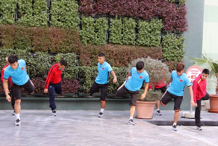 Đội tuyển Việt Nam đã đến Qatar tái đấu Philippines ngày 31.12 Đội tuyển Việt Nam đã đến Qatar tái đấu Philippines ngày 31.12