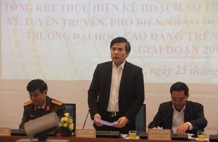 Báo GD&TĐ: Đẩy mạnh tuyên truyền, phổ biến, GD pháp luật cho SV