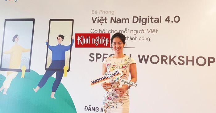 Đỗ Mỹ Ninh - giám đốc quản lý tiếp thị của Google tại Việt Nam 88206a0e6a4e8310da5f