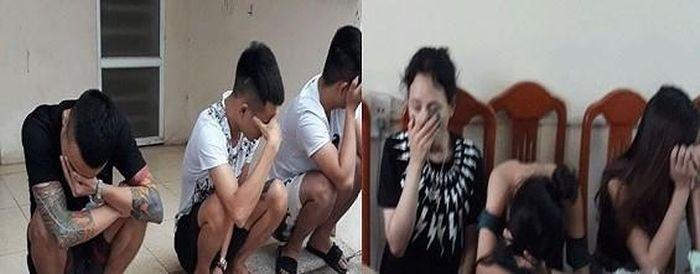 Báo ANTĐ: Đột kích quán karaoke, bắt quả tang 32 'dân bay' dương tính ma túy