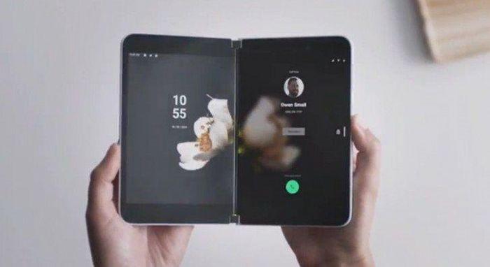 Chi tiết Surface Pro, chiếc điện thoại hai màn hình chạy Android của Microsoft ảnh 1