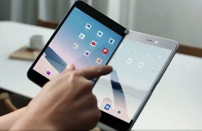 Chi tiết Surface Pro, chiếc điện thoại hai màn hình chạy Android của Microsoft ảnh 2