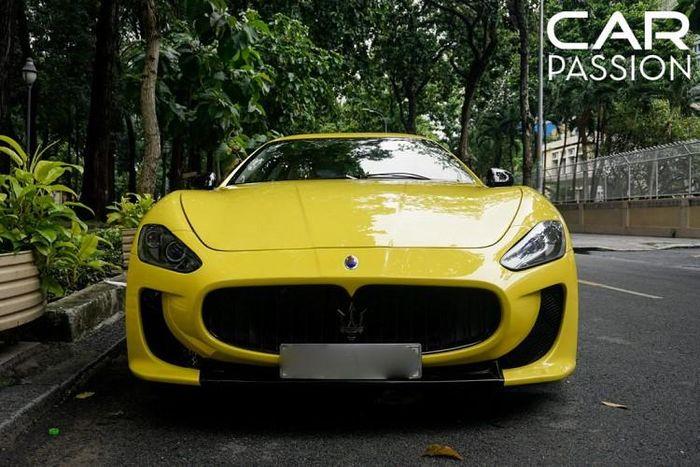 Maserati GranTurismo độ bodykit McStradale hơn 3 tỷ tại Sài Gòn