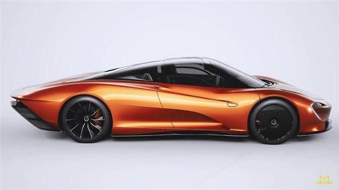 Vẻ đẹp tuyệt mỹ của siêu xe Mclaren Speedtail với nội thất hoàn thiện bởi hãng thời trang Hermes