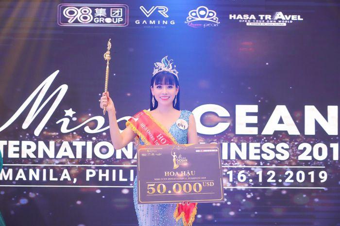 Hoa hậu Đại Dương Doanh nhân quốc tế 2019 đã gọi tên Phạm Bích Thủy - Ảnh 1