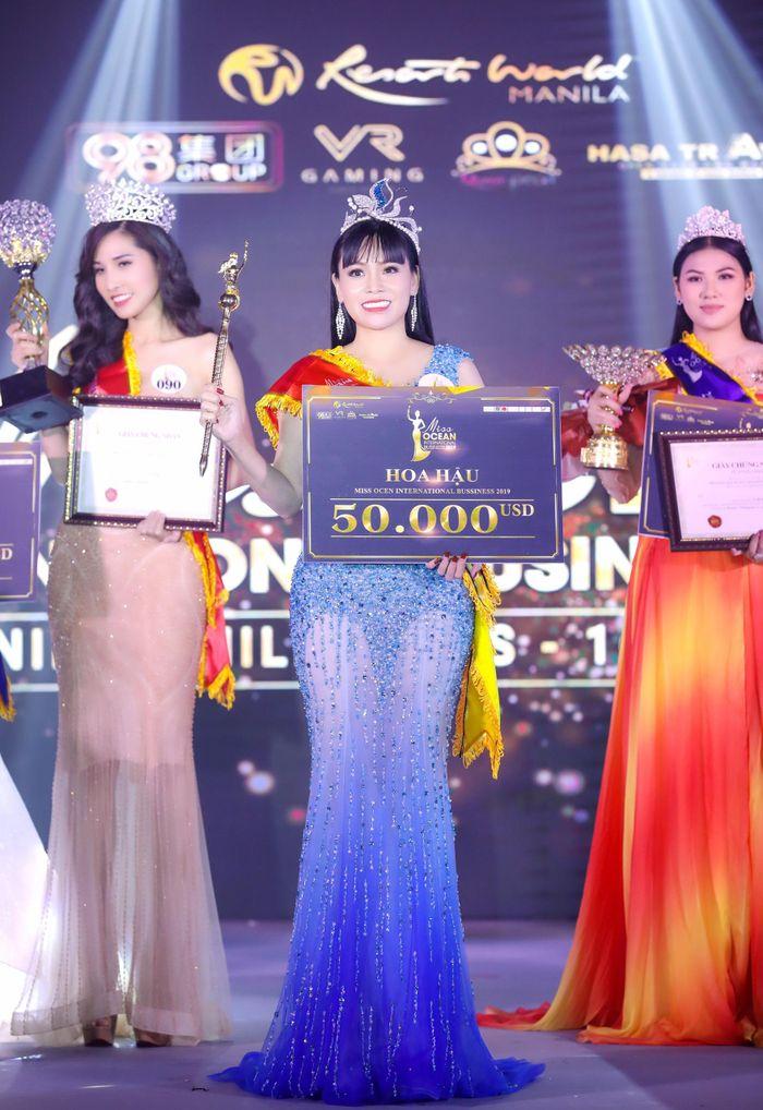 Hoa hậu Đại Dương Doanh nhân quốc tế 2019 đã gọi tên Phạm Bích Thủy - Ảnh 3