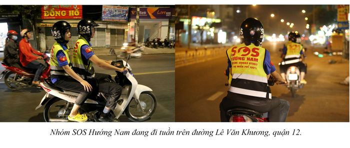 Biệt đội cứu hộ xuyên đêm miễn phí ở Sài Gòn (xe bể bánh, hết xăng, hư bugi,...) 16