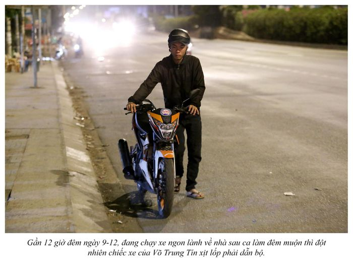 Biệt đội cứu hộ xuyên đêm miễn phí ở Sài Gòn (xe bể bánh, hết xăng, hư bugi,...) 3