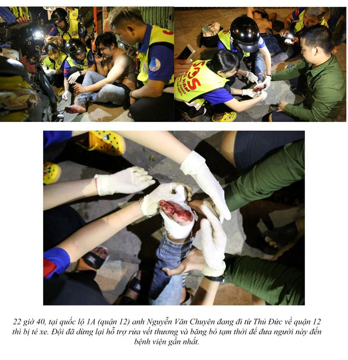 Free overnight rescue squad in Saigon (tank truck, run out of gas, damaged spark plugs, ...) 21