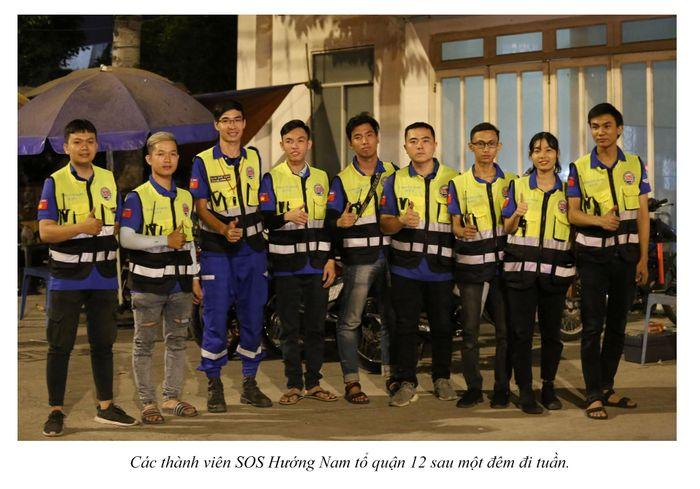 Biệt đội cứu hộ xuyên đêm miễn phí ở Sài Gòn (xe bể bánh, hết xăng, hư bugi,...) 24