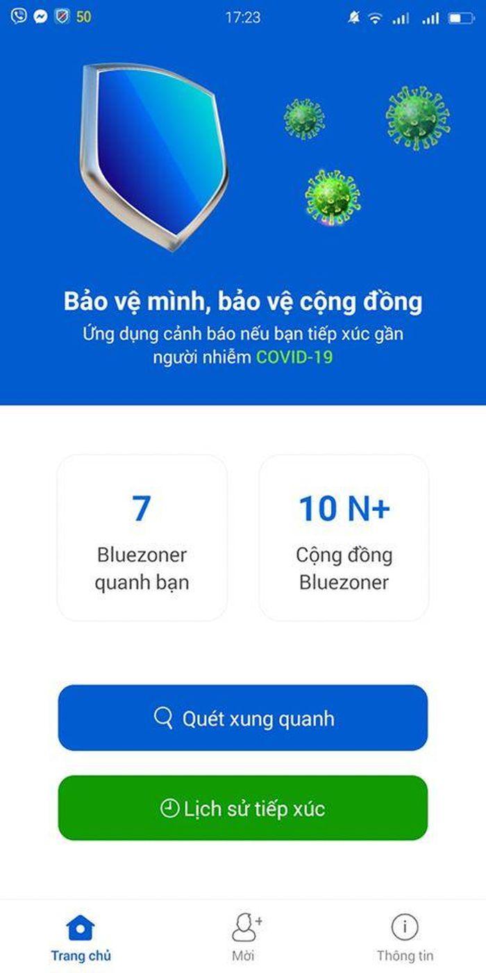 Kêu gọi người dùng cài ứng dụng 'Khẩu trang điện tử' Bluezone ...