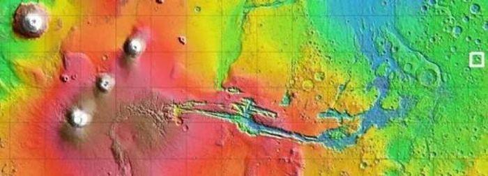 Bất ngờ trước cảnh đẹp của sao Hỏa qua những hình ảnh mới nhất