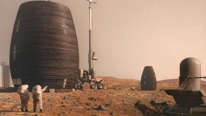 NASA tiết lộ công nghệ xây nhà sao Hỏa