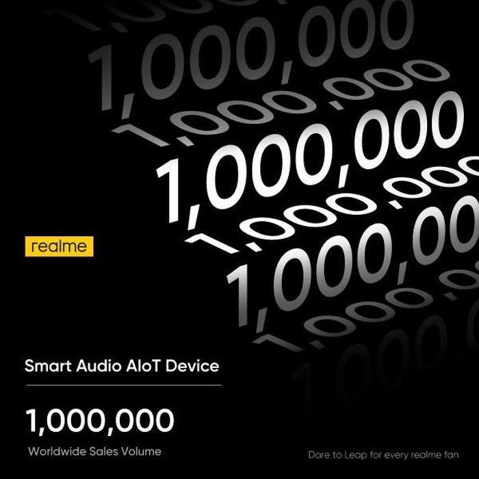 Realme cán mốc 1 triệu lô hàng tai nghe không dây