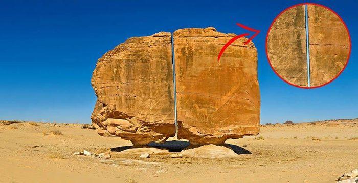 Bí ẩn khối đá hơn 10.000 năm tuổi bị cắt đôi hoàn hảo