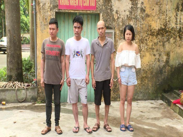 Nhóm nghiện gây ra hàng chục vụ trộm cắp xe máy