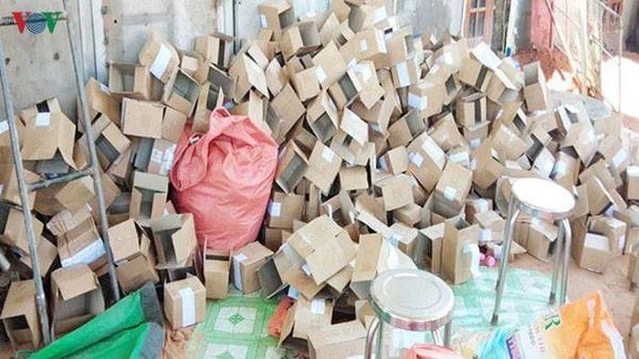 Phát hiện cơ sở sản xuất mỹ phẩm không có giấy phép