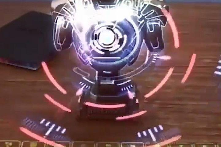 Bàn phím ảo độc đáo, chiếu laser 3 chiều
