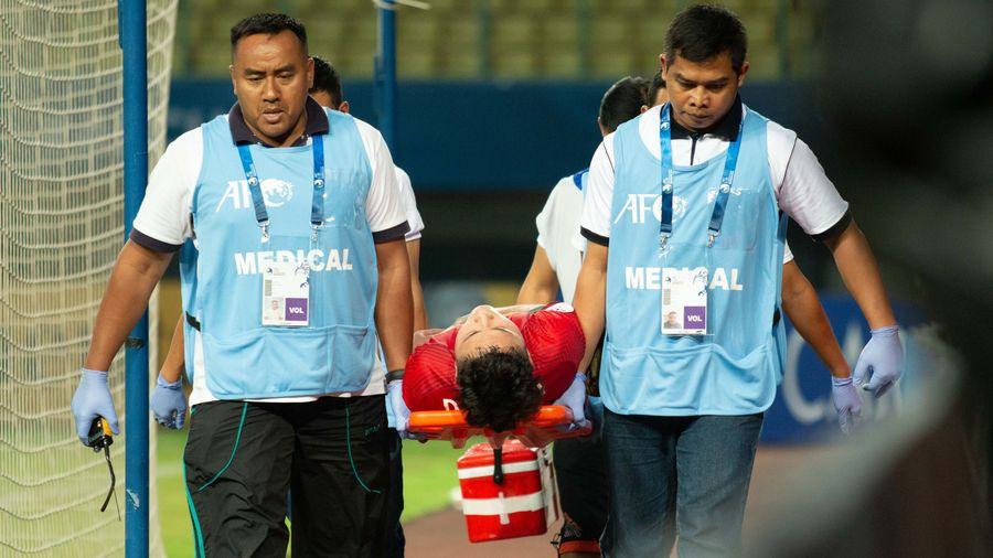Đội trưởng U19 Việt Nam nhập viện sau trận thua Jordan