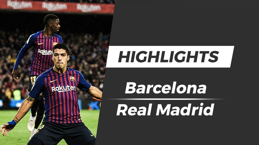 Highlights Barcelona 5-1 Real Madrid