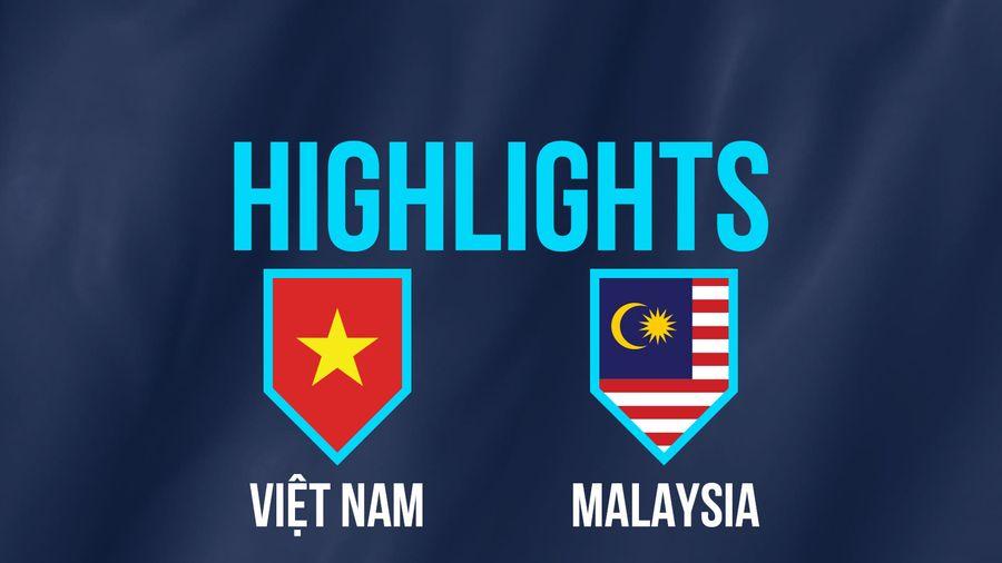 Highlights AFF Cup: ĐT Việt Nam 2-0 ĐT Malaysia