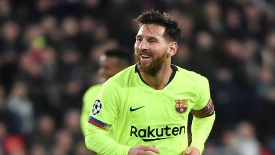 Messi vượt Ronaldo, lập kỷ lục ghi bàn ở Champions League