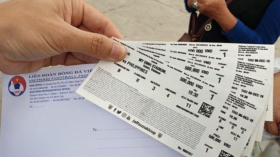 Chỉ bán 15.000 vé online trận Việt Nam – Philippines, VFF nói gì?