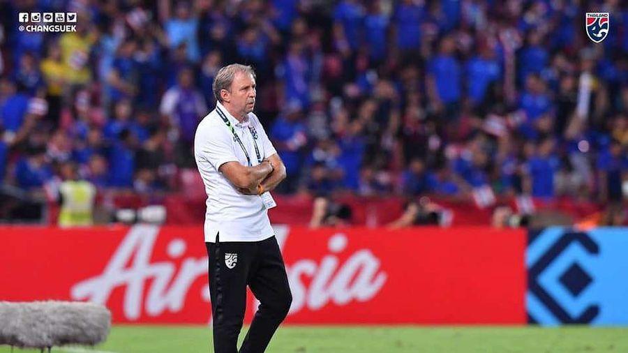 Mất vé chung kết AFF Cup, HLV tuyển Thái Lan đổ lỗi cho vận đen